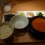 スンドゥブ韓豆 - 韓豆スンドゥブ980円(税別)