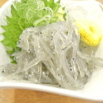 沼津魚がし鮨 - 生しらす 480円 2014.1
