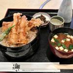 食通 ゆたか - ランチの穴子天重(950円)