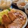 力鶴 - 料理写真:焼肉定食(にんにくダレ)