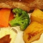 はり重グリル - スペシャルランチ 付け合せの野菜