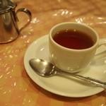 はり重グリル - スペシャルランチ 紅茶