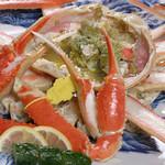 魚平 - 料理写真:ゆでがに