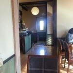 23683612 - レジの向かいが入口、正面がカウンター席、左手前の奥が小上がり、レジの後(写真では左手)が厨房です