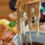 力鶴 - セットの二八蕎麦