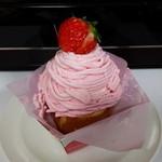 モン・ナポレオン - 料理写真:苺のモンブラン