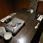姫桜 - 落ち着ける奥の半個室ロフト席が用意されてました