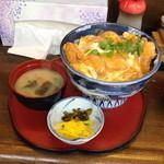 かつ心 - 特かつ丼(玉子)700円