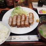 とんかつ 美竹 - つばきポーク上ロースとんかつ定食1,500円