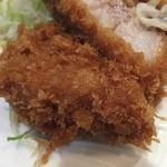 とんかつ 美竹 - 大井町のとんかつは何故コロモが厚い?