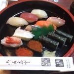 23684876 - 寿司ランチ  900円  コスパに優れています。