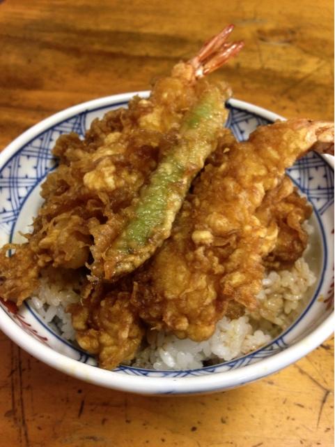 八ツ手屋 - 天丼(上)1000円
