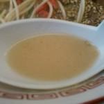 長浜ラーメン長浜一番 - スープ (長浜ラーメン)