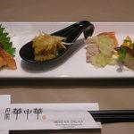 Meikekachuuka - 前菜の盛り合わせ