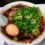 新福菜館  - 【味玉入りラーメン…750円】2013/12