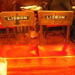 リスボン珈琲店 - 椅子にも