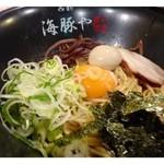 23692141 - 月見油そば・・東京で数回油そばを食べたことがありますが、福岡で見るのは初めてなのです。                       美味しいそうですよ。