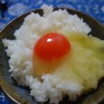 たかはしたまご - 料理写真:TKGで朝ご飯