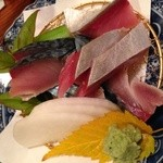 せき川 - サバのお刺身