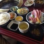 萩の茶屋 - ヨコ定食