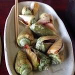 萩の茶屋 - チャンバラ貝