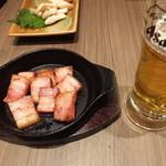 かぶんす - 大人気:厚切りベーコン焼き:504円