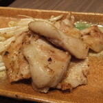 かぶんす - トントロの梅肉焼き:609円