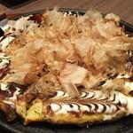 かぶんす - お好み焼き:MIX焼(豚・イカ・エビ・スジコン):1134円