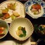 環翠楼 - 料理写真:夕食はじめ