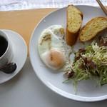 カフェ・ド・エルフ - 料理写真:モーニング(全体)