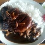 定食屋菜 - ハンバーグカレー2