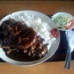 定食屋菜 - ハンバーグカレー1