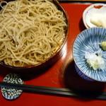 和食房 龍 - ざる蕎麦@650円
