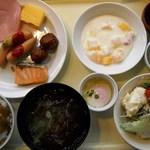 ホテルプラザアネックス横手 - 朝食バイキング