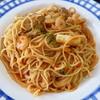 カフェ・ド・サラサ - 料理写真:魚介のトマトソーススパゲッティ