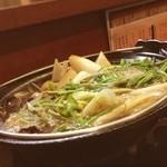 三四郎 - 三四郎さんできりたんぽ鍋。 絶対食べきれないと思ったのに全然! 美味しゅうございました(*´ω`*)