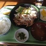 食彩酒房 さいせい - 生姜焼き定食 500円