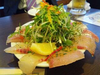イタリアン酒場「ナチュラ」 武蔵小杉店 - 3種のカルパッチョ盛合せ