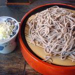 寿伊舎 - 料理写真:まあもりそばですよ