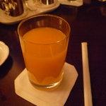 ザ ロビーラウンジ - ☆フレッシュのオレンジジュースをゴクリ(●^o^●)☆