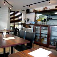 イタリアンレストラン アランチーニ 桜上水-2階のお店なので明るく眺めも良いです