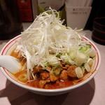 蒙古タンメン中本 目黒店 - ピリホロラーメン850円