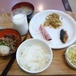 ホテル・アルファ-ワン - 2日目の朝食