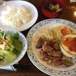 ちいさなフライパン - 日替わりランチ@1000円
