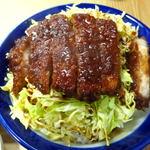十綱食堂 - ソースかつ丼 ¥800
