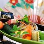 離れの宿 よもぎ埜 - 料理写真:前菜