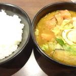 CoCo壱番屋 - チキンスープカレー:880円