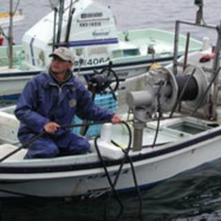 当店の仕入先の漁師です