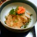 つり舟割烹 三河屋 - 里芋のしぐれ煮