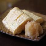 手打ち蕎麦 かね井 - だし巻き (2014/01)